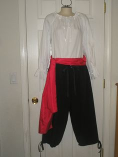 Renaissance Women Or Men Pirate Costume Full Set by Designsbylael, $125.99 you always like to dress up for haloween - already have a custome it is sort of a production