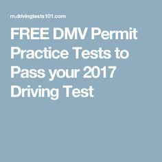 is the drivers ed permit test hard