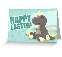 Easter Hatchlings Greeting Card