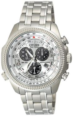 Citizen Men's BL5400-52A Eco-Drive Stainless Steel Sport Watch - http://newtimepieces.com/citizen-mens-bl5400-52a-eco-drive-stainless-steel-sport-watch/ - The silver-tone shine of the Citizen Men's Eco-Drive Stainless Steel Sport Watch give it an eye-catching style sure to attract adventure. The silver-tone stainless steel case and bezel offer a solid look to encase the many functions of this watch. The silver dial displays luminous indices at ea...