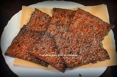 Homemade Bak Kwa / BBQ Meat Jerky (自制肉干)