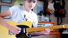 "14-Year-Old Kid Uses Not One, But Two Guitars To Craft Killer ""Sweet Home Alabama"" Cover"