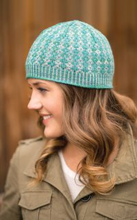 Heathered Happiness Hat pattern - from Love of Knitting magazine's special Knit Accessories 2014 Issue