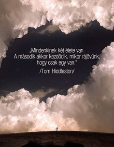 Tom Hiddleston gondolata az életről. A kép forrása: Lakatos Márk