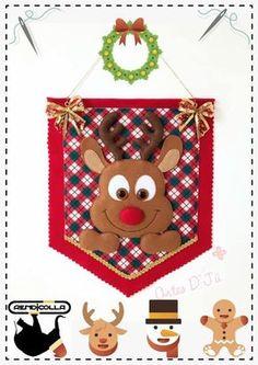 Fotografias de Cris Silva Rena, Felt Toys, Stuffed Toys Patterns, Photo Wall, Banner, Christmas Ornaments, Holiday Decor, Kids, Wall Photos