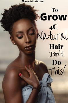 Without trying to sound too dramatic, let me just say that this common hair technique may be ruining your hair health and your chances at retaining length.  So if you want to grow 4C hair past your shoulders do not do this! howtogrow4Chair #4Chairgrowth #4Cnaturalhairtips #regimen #moisture #EasyPromHairstyles Natural Hair Regimen, How To Grow Natural Hair, Long Natural Hair, Natural Hair Growth, Natural Hair Styles, Long Hair Styles, Black Hair 4c, Simple Prom Hair, Healthy Hair Tips