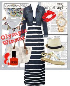 """Olympic Winner"" by edommel on Polyvore"