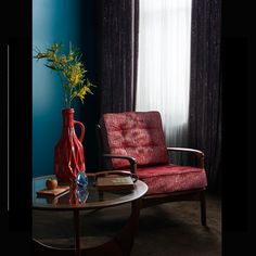 Clarke & Clarke Innovative design and worldwide distribution of beautiful furnishing fabrics, wallpapers and cushions. Innovation Design, Recliner, Accent Chairs, Cushions, Lounge, Wallpaper, Furniture, Home Decor, Decorate Walls