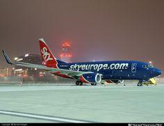 #Boeing B737-800 by SkyEurope