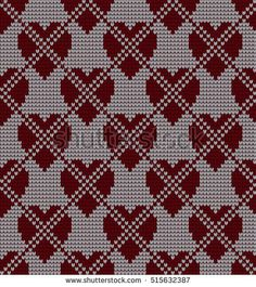 Seamless knitted pattern in rhombuses Quilt Patterns, Crochet Patterns, Dobby Weave, Geometric Drawing, Kids Blankets, Beading Patterns Free, Knitting Designs, Vector Pattern, Knitting Socks