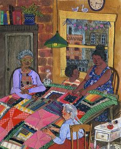 Quilting, Phoebe Wahl