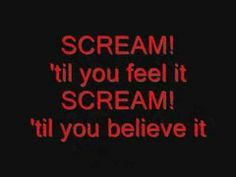 Scream - Tokio Hotel (Lyrics) - http://www.tokyohotel-mega.com/scream-tokio-hotel-lyrics/