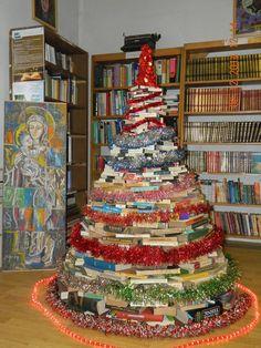 "Found on Shelf Awareness https://www.facebook.com/shelfawareness/photos  Biblioteca ""Tata Oancea"" in Bocsa, Romania."