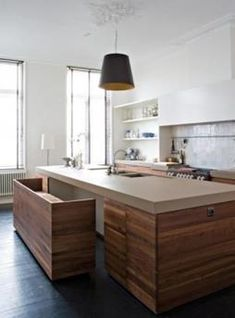 Trendy Kitchen Island With Stove Large Ideas Kitchen Flooring, Kitchen Furniture, Kitchen Countertops, Granite Kitchen, Kitchen Appliances, Kitchen Backsplash, Furniture Design, Kitchen Cabinets, Kitchen Island With Stove