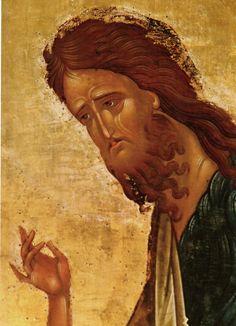 View album on Yandex. Byzantine Icons, Byzantine Art, John The Baptist, Orthodox Icons, Old Art, Christian Art, Fresco, Christianity, Drawings