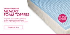 Mattress toppers starting from £34.. Grab yourself a great deal!  Visit our page on http://mattressguru.co.uk/collections/toppers
