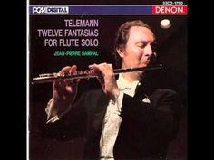 G.Ph.Telemann - 12 Fantasias for Solo Flute (Jean-Pierre Rampal, flute)