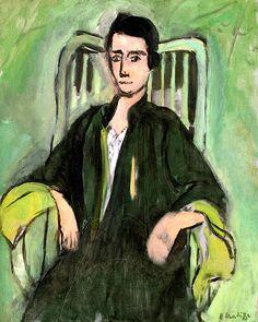 Henri Matisse (1869-1954) was een Frans kunstschilder en beeldhouwer. Hij staat bekend als de merkwaardigste Franse fauvist. Tijdens een moeizaam herstel van één jaar na een blindedarmoperatie, begint hij prenten te kopiëren. Hij wordt door de kleuren gegrepen. Hij krijgt contact met Georges Rouault, Charles Camoin, Henri Manguin en met de Belg Henri Evenepoel, zijn latere geestesgenoten in het fauvisme. - 1923