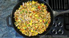 The Kitchenista Diaries: Chicken & Mango Fried Coconut Rice