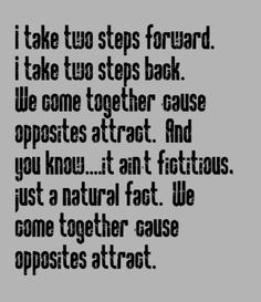 Opposites attract dating