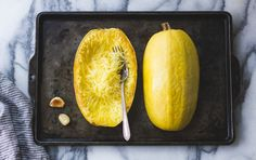 Farmers markets and grocery stores are brimming with squash of all shapes and sizes this time of year. One type not to overlook is spaghetti squash. When cooked and shredded with a fork, the pale yellow flesh delivers stringy strands that resemble noodles. This squash is low in calories, mild in flavor and can be …
