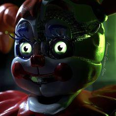 Fnaf 5, Anime Fnaf, Five Nights At Freddy's, Sister Location Baby, Fnaf Baby, Fnaf Wallpapers, Circus Baby, Fandoms, Saga