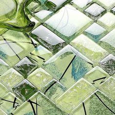 coloured subway tile for kitchen backsplashes backsplash pinterest kchen spritzschutz und frhling - Ubahn Fliese Backsplash Ideen
