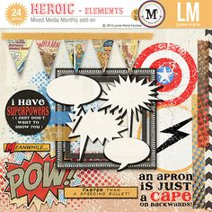 Heroic elements by Lynne-Marie