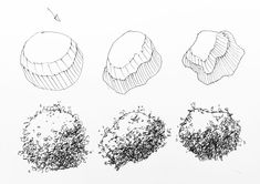 How to draw a realistic tree using a structured approach. This drawing technique can applied to any tree. Nature Sketch, Nature Drawing, Plant Drawing, Manga Drawing Tutorials, Drawing Techniques, Art Tutorials, Drawing Tips, Landscape Sketch, Landscape Drawings