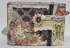 Mini Album featuring lots of different Prima lines.  More details on my blog