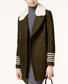 296.99$  Buy now - http://vicpp.justgood.pw/vig/item.php?t=4qe9fi24567 - TOMMYXGIGI Shearling-Collar Military Peacoat