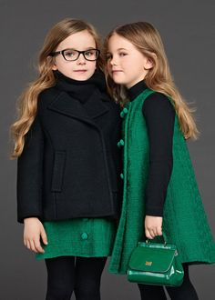 Dolce and Gabbana Kids Fashion Wear For Fall/Winter 2016 - Cheap Little Girls Dress Up, Play Cloths, Butterfly Wings, Drees Up, Dressup Girls Kids Fashion Wear, Kids Winter Fashion, Little Girl Fashion, Little Girl Dresses, Winter Kids, Fall Winter, Fashion Children, Fashion Clothes, Children Clothing