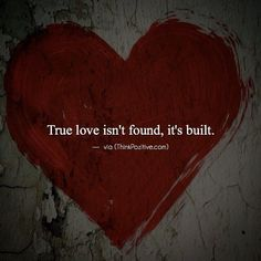 True Love Isnt Found