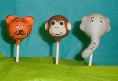 6 Zoo Animal Cake Pops