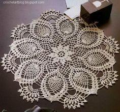 Crochet Art: Crochet Doily Pattern                                                                                                                                                                                 More