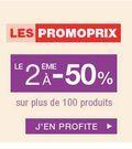 Catalogue Monoprix Le 2ème produit à 50% du vendredi 28 novembre 2014 au mardi 2 décembre 2014 ( 28/11/2014 - 02/12/2014 )