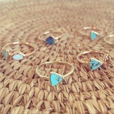 Cluster and Summer Triangle Rings by Kathryn Bentley