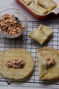 Three Cheese Blinis
