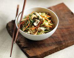 Mango-Zucchini Noodle Salad