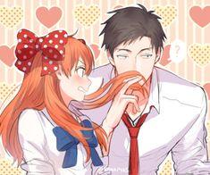 anime, image de gekkan shoujo nozaki-kun et sakura chiyo Fanart Manga, Manga Anime, Fanarts Anime, Anime Characters, Anime Love, Anime Guys, Monthly Girls' Nozaki Kun, Gekkan Shoujo Nozaki Kun, Sakura