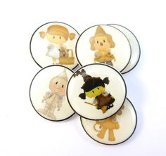 Cute Wizard of Oz Handmade Buttons. Wizard of Oz by buttonsbyrobin