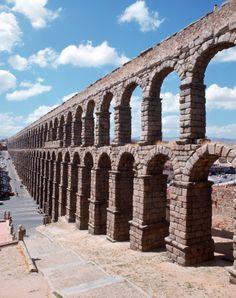 The Roman Aqueduct - Segovia, Spain