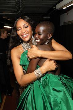 Adut Akech and Naomi Campbell Black Girl Magic, Black Girls, Pretty People, Beautiful People, British Fashion Awards, Brown Skin Girls, Lab, Black Girl Aesthetic, My Black Is Beautiful