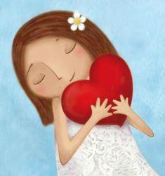 AMITIE petite fille + coeur