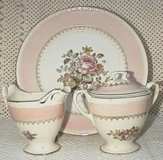 China and Dish Patterns--Homer Laughlin 'Arcadia'
