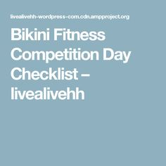 28 Best Fitness Competition images in 2015   Health fitness, Fitness