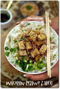 Noodles with tofu Diet Recipes, Cooking Recipes, Healthy Recipes, Tofu, Asian Recipes, Ethnic Recipes, Potato Salad, Noodles, Healthy Snacks