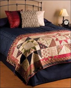 Bed Runners Using Precut Fabrics - Quilting Patterns