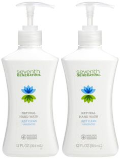 Seventh Generation Hand Wash, Just Clean Unscented