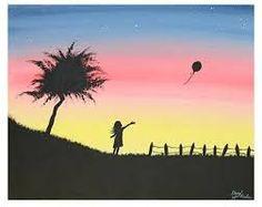 Resultado de imagem para up house balloon painting colour abstract
